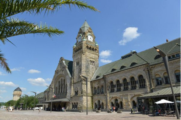 "Metz elected ""Most Beautiful Station in France""!"